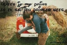 Romantiese quotes en prente