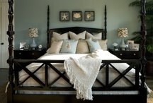 H O M E : Sanctuary / When it all gets to much, head for the duvet and snuggle down somewhere cosy
