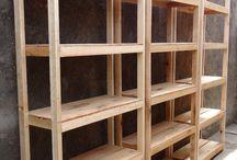 Repisas de madera