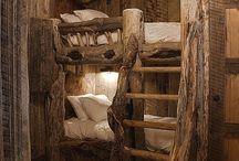 Makuuhuone - Bedroom / Erilaisia makuuhuoneita / nukumistiloja ja ideoita.  - Bedroom decoration and ideas