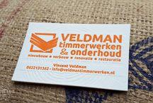 Visitekaartjes - Businesscards / Letterpress visitekaartjes, business cards, ontwerp op maat, mooie visitekaartjes, boekdruk, hoogdruk, De Kaartjeswinkel