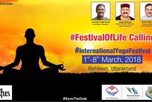 International Yoga Festival 2018 / On the occasion of International Yoga Festival on 1st -8th March 2018 at Hotel Ganga Resort (GMVN), Rishikesh is bringing together the revered teachers of yoga and meditation, enlightened Spiritual Leaders, Evolutionary Thought Leaders, and Wellness Specialists from all around the world.