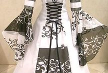 Medieval Dresses / Medieval dresses I found around. They this magickal feel, don't you think?