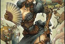 Steampunk, Dieselpunk Ideas