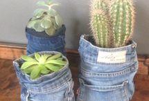 Old Jeans/ olabukse, ideer
