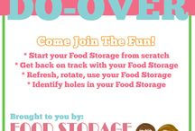Food Storage Do-Over 2015 / We will be sharing ideas each week to help you go through your entire food storage plan in bite-size pieces to re-evaluate, or refresh as necessary.