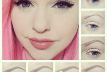 makeup - brows