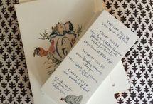 stationary and invitations