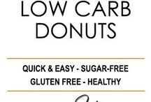 Recipes donuts, pancake, waffl, keto, paleo, nocarb, low carb