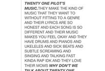 Twenty one pilots l-/