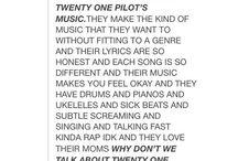 twenty-one pilots