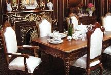 Poppenhuis eetkamer