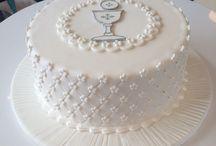 pasteles primera comunion