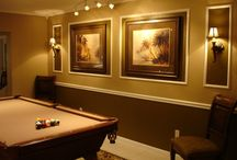 Pool table rooms