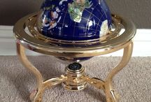 World Globes - Collectible / I love globes, both new and antique, just sharing some of the ones that I find!
