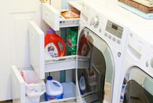 Laundry Room Ideas / Ideas for laundry room decor, organization.