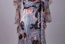 Fashion | Sheer Beauty / #chiffon #organza #vintagefashion #sheerfabric #silkchiffons