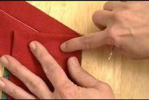 Video of quilt corners