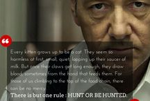 The underwood quotes !