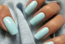 Acrylic nail idea & colours