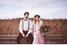 INDIE / BOHEMIAN WEDDING / indie wedding, bohemian wedding, vintage wedding, hippie wedding