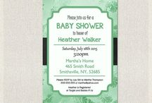 Baby Shower INVITATIONS / Baby Shower INVITATIONS