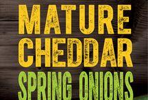Spring Onion Cheddar by Windyridge Cheese Ltd / Cheddar Cheese with Spring Onions
