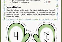 Matematiikka, yhteen- ja vähennyslasku