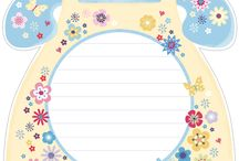 Memos / Printable memo pad sheets and letter templates.