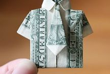 Money origami / by Donna Gallup