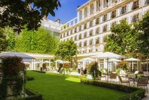 Le Bristol, Paris / Iconic luxury hotel and spa in the centre of Paris.