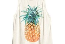 fruit fashion / Sweet and delicious prints and clothing for summer!