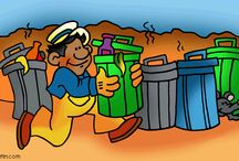 Thema afval kleuters / Garbage theme preschool / Thema afval kleuters lessen en werkjes / Recycle bin theme preschool lessons and crafts