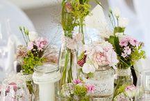 Hochzeit - Tischdeko