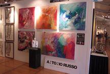 Antonio Russo Exhibitions