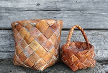 Tuohityö / Birch bark craft