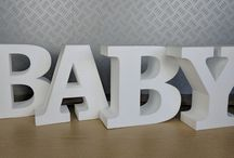 Party / Event letters / Creative letters and numbers for any kind of an Event Wedding / Birthday / Christening / Baby Shower.