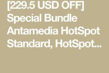 Special Bundle Antamedia HotSpot Standard, HotSpot Operator License