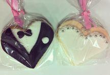 Bride groom cookie