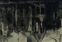 Haunted beauties / Angels, cimetery,curiosities