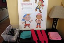 Jake and the Neverland pirates .. Party ideas