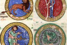 Medieval iluminación