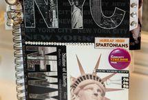 Album scrap New York