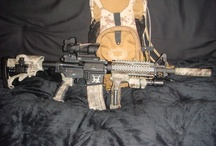 Lock and Load / Guns, firearms, weapons, tactical gear