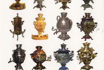 Pots , Pans, Kettles and Samovars