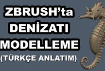 Free Zbrush Tutorials / Bedava zbrush eğitselleri. Free zbrush tutorials.