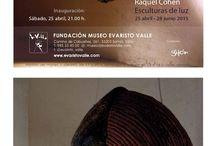 """Exposición """"Evaristo Valle"""" / Exposición 2015"""