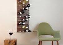 Racks Divertidos para tu casa by Me gusta una buena COpa de Vino  / Adornan tu casa y ademas cuidas tus vinos