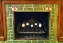 Tiled Fireplace Surrounds