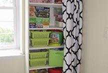 Closet / Closet ideas and organization / by Kenna Speer